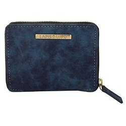 Vapid Bleak Women Clutch (Blue) Multi-Functional Pocket Design