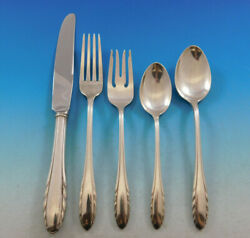Lyric By Gorham Sterling Silver Flatware Service For 8 Set 40 Pieces