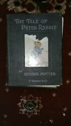 The Tale of Peter Rabbit 1902 First Commercial Edition.Beatrix Potter. Wept Big