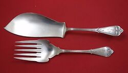 Beekman By And Co Sterling Silver Fish Serving Set 2pc W/5-tine Fork