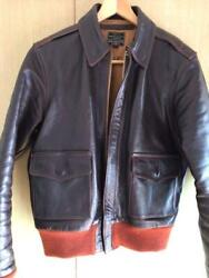 The Few A-2 Horse Hide Jacket Coat Men Leather Fashion F/s Japan Size 36 Used