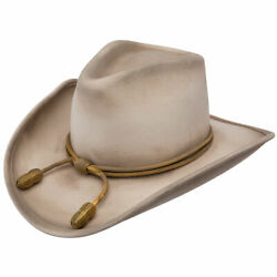 NEW The Duke John Wayne The Fort Crushable Hat Western Silver Belly Color