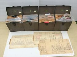 Lot 159+4 Amfile Cases Vintage 45 Rpm Records Collection Jazz Ect.+1/2 Free Ship