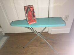 Vintage Toy Wolverine Sunny Suzy Non-electric Iron Mint And Ironing Board Used