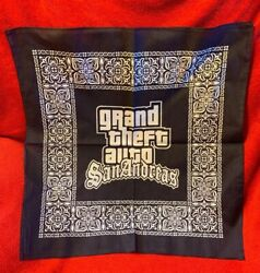 Grand Theft Auto San Andreas GTA Bandana Hard To Find Brand New! PS2 Merchandise