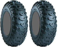 Pair 2 Carlisle Trail Wolf 20x11-9 ATV Tire Set 20x11x9 ITP 20-11-9