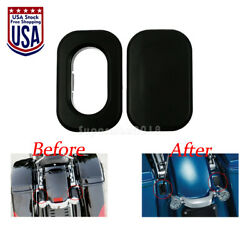 Plastic Antenna Hole Accent Filler Cover Fit For Street Glide Road Glide 2010-19