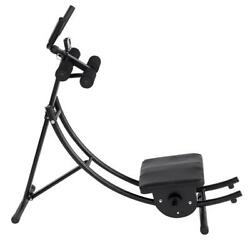 Abs Abdominal Exercise Machine Crunch Coaster Body Muscle Fitness Workout