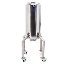 Usa Lab 50l Stainless Steel Jacketed Storage Vessel - Ss304