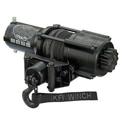 Kfi Se45-r2 Stealth 4500lb Standard Winch 38ft Synthetic Cable
