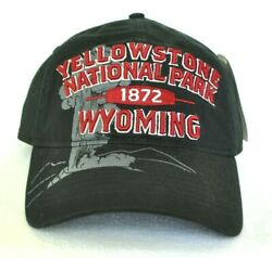 *YELLOWSTONE NATIONAL PARK WYOMING* Old Faithful Geyser Ball cap hat *OURAY*