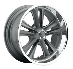 Cpp Foose F099 Knuckle Wheels 17x7 + 18x9.5 Fits Ford Mustang Falcon Galaxie