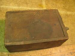 Vintage Ford Model T Buzz Coil With Ford Script