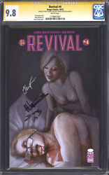 Revival 4 1st Print Cgc 9.8 Ss Nm/m / Triple-signed Seeley, Norton And Frison
