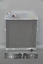 3 Row All Alluminum Radiator Fit 1939 1940 1941 Ford Deluxe Sedan Chevy Engine