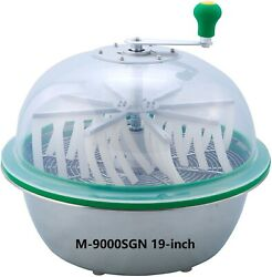 Vr Grow The Clean Cut M-9000sgn Series Bowl Leaf Trimmer 19-inch Hydroponic Spin