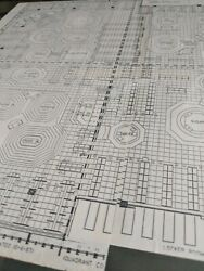 4 World trade center Historical N.Y.B.O.T. Trading Floor Configuration Plans.