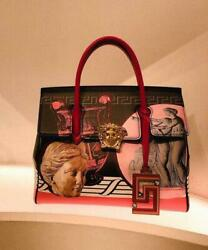 VERSACE HAND BAG WOMEN LADIES AUTHENTIC 100 LIMITED MODEL F/S FASHION