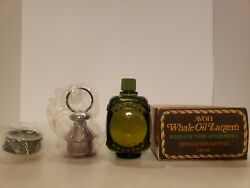 Avon Whale Oil Lantern Tai Winds After Shave Full Bottle New With Box