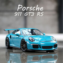 124 Scale Diecast Model Cars Porsche 911 Gt3 Rs 2016 Collectible Car By Welly