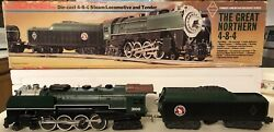 Lionel The Great Northern 6-3100 4-8-4 Magne Traction Steam Locomotive Mib