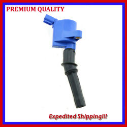 1pc Bluetec Ignition Coil Ufd267b For Ford F-250 5.4l V8 1997 1998 1999 20002001