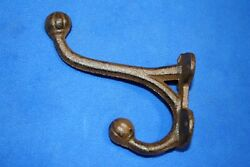 Rustic Elegance Mudroom Entryway Wall Hooks, Cast Iron 5, Volume Priced, H-45
