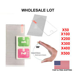Wholesale Lot Tempered Glass Screen Protector For Iphone Xs Max 8 5 6s 7 Plus