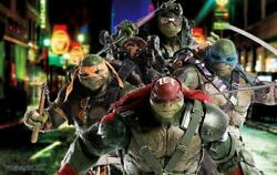 Tmnt out of the Shadows Leonardo Michelangelo Donatello & Raphael Set Threezero