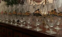 Hard Rock Cafe Hurricane Clear Beer Glass Glassware Many Locations 9.25