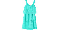 Lace Popover Dress Girls Mint Green Size 1416 Real LoveDollhouse