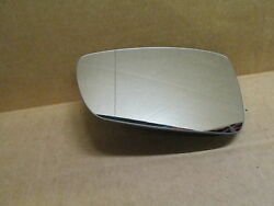New Genuine Vw Polo Up Drivers Left Door Mirror Glass Wide Angle Lhd 6r0857521f