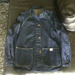 Bayly 40s Coverall Blue Jean Jacket Usa Rare War Model Collectible Size 38 F/s