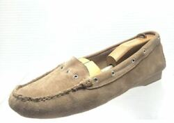 Women#x27;s Brown Suede Michael Kors Slip On Shoes Size 9.5M $31.16