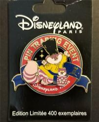 Dlp Disney Christmas Pin-doll Party - Pin Trading Event Cheshire Cat Pin 88204