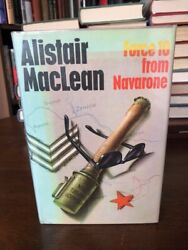 Force 10 From Navarone, Alistair Maclean, Collins, 1968, 1st / 1st