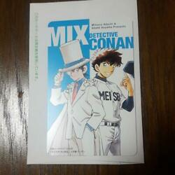 Detective Conan And Mix Collaboration Card Rare Not Sold In Store F/s