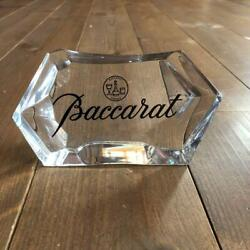 Baccarat Display Rare Ornament Not Sold In Store Imported From Japan F/s