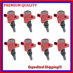 8pc High Energ Ignition Coil Ufd267r For Ford Grand Marquis 4.6l V8 1998 1999