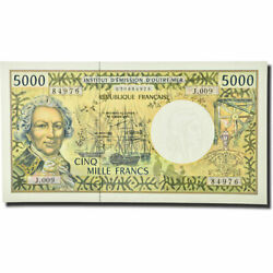 [564524] Banknote French Pacific Territories 5000 Francs Undated 1996