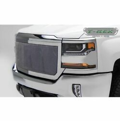 T-rex 54127 Upper Class Mesh Grille Polished Stainless For Silverado 1500 16-18