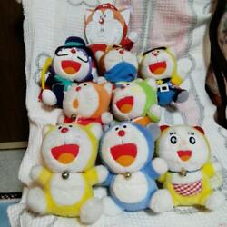 Doraemon And The Doraemonand039s Doll Stuffed Toy Set 1996 Vintage Rare From Japan