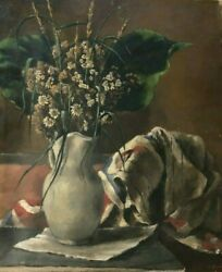 Original oil Alexander Brook (1898-1980) well known listed American realism