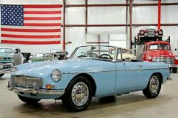 1964 MG MGB Convertible 1964 MG B Convertible 82048 Miles Iris Blue Convertible 1800cc I4 4-Speed Manual