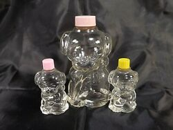 Manon Freres Puppy Love Dog Figural Bottles Perfume Lot Of 3 Empty 2 Sizes