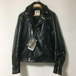 Lewis Leather Horsehide Aviakit Cyclone 441 Regular Fit 36 Riders Jacket Tag F/s