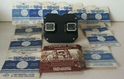 Vintage Sawyers View-master Viewmaster Black Portland Oregon Usa With 12 Discs