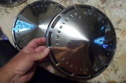 Show Car Mint 70and039s American Motors Javelin Gremlin Pacer 10 Dog Dish Hubcaps