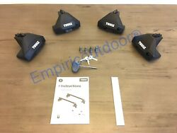 New Thule Clamp Evo And Thule One-key System. Free Expedited Ship