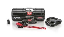 Warn Axon 45rc 4500 12v Winch Synthetic Wire Rope Offroad Atv Utv Sxs 4 Compact